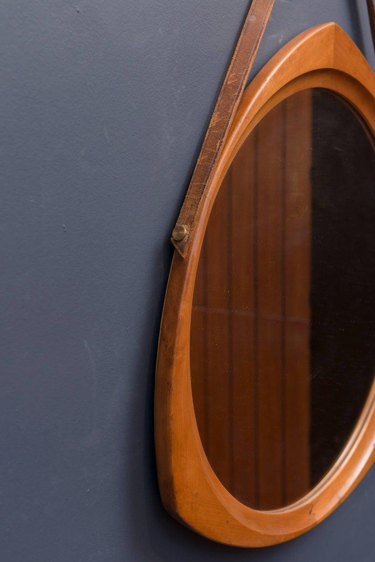 Scandinavian Modern Scandinavian Wall Mirror For Sale