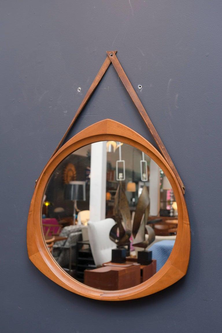 Mid-20th Century Scandinavian Wall Mirror For Sale