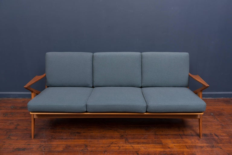 Danish Teak Z Sofa by Poul Jensen for Selig 2