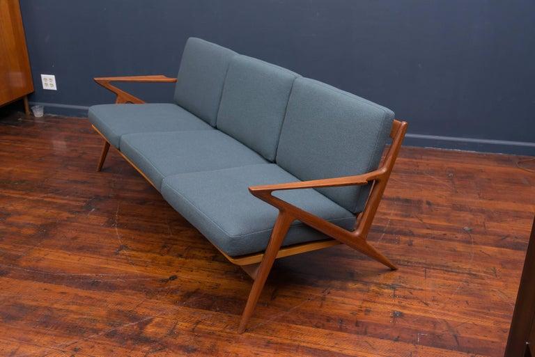 Danish Teak Z Sofa by Poul Jensen for Selig 3