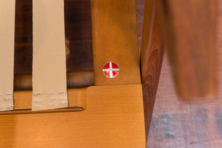 Danish Teak Z Sofa by Poul Jensen for Selig 7