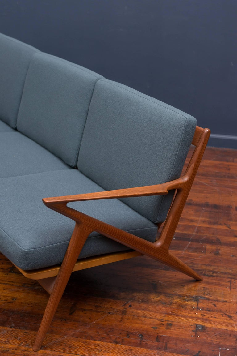 Danish Teak Z Sofa by Poul Jensen for Selig 10