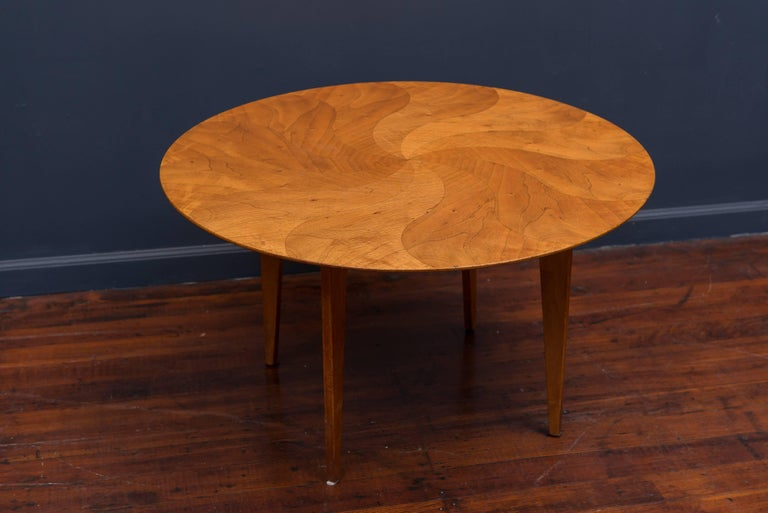 Rare and beautiful coffee table designed by Giovanni