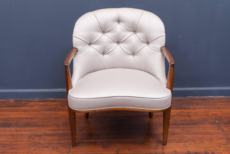 Pair of Janus Lounge Chairs by Edward Wormley for Dunbar 9