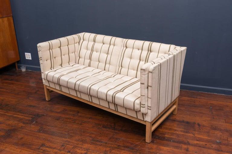 Scandinavian Modern Erik Ole Jørgensen Design Small Sofa For Sale