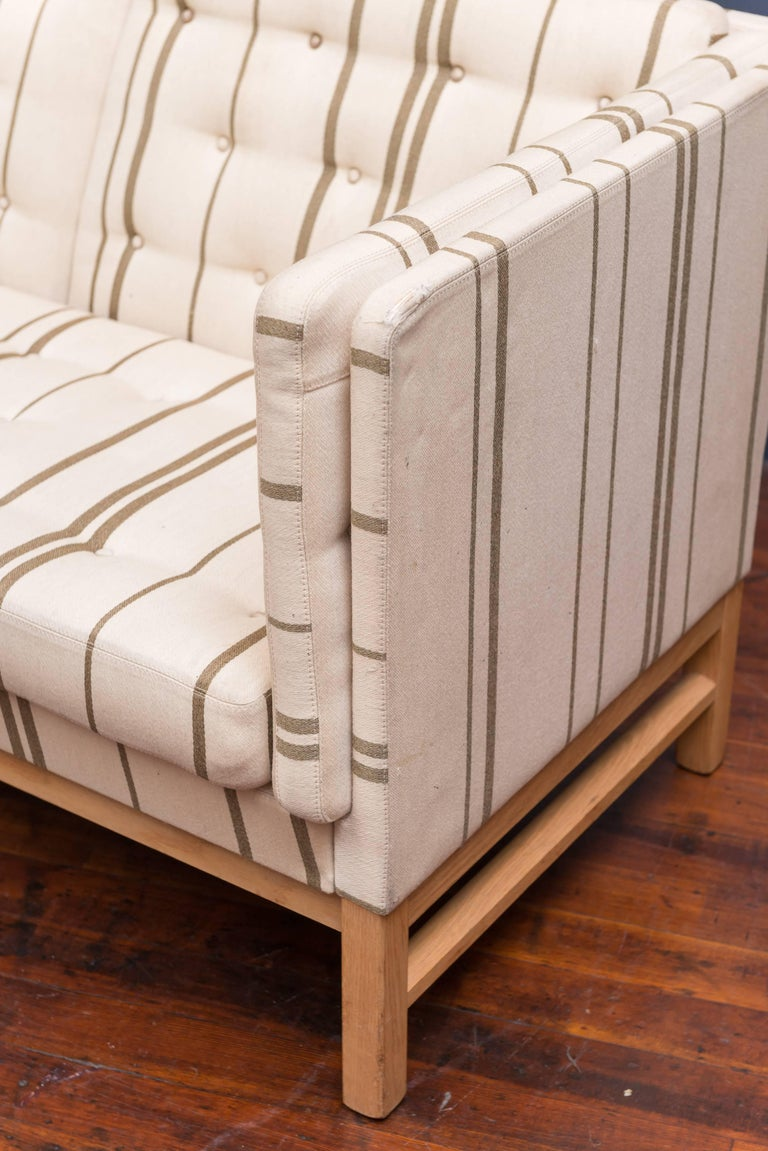Danish Erik Ole Jørgensen Design Small Sofa For Sale
