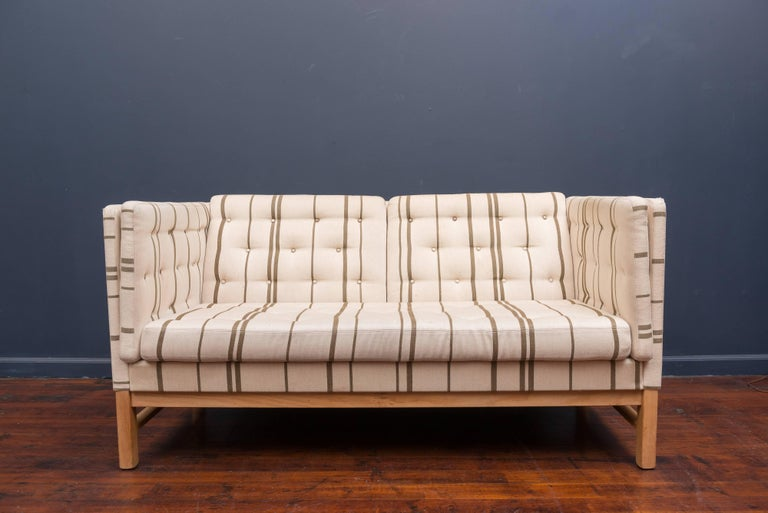 Erik Ole Jørgensen Design Small Sofa For Sale 1