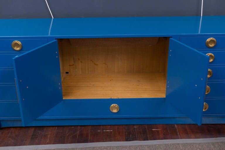 Dunbar Blue Lacquer Credenza 5
