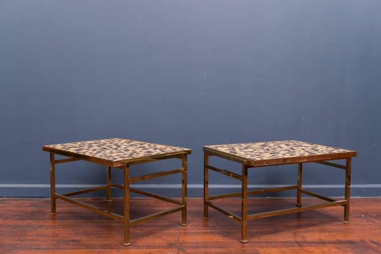 Dunbar Murano Tile Top Tables 2