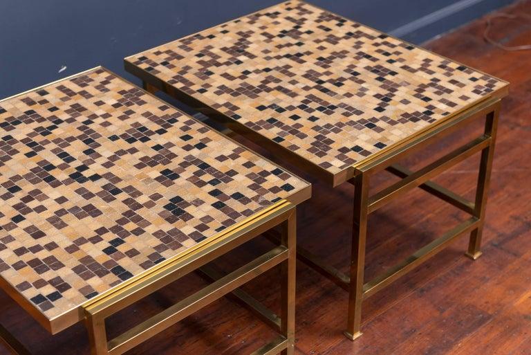 Dunbar Murano Tile Top Tables 5