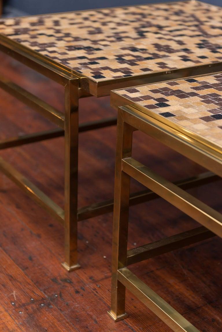 Dunbar Murano Tile Top Tables 8
