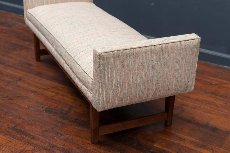 Mid-Century Modern Bench by Selig 4