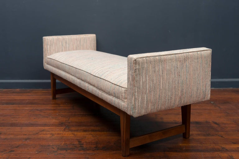Mid-Century Modern Bench by Selig 6