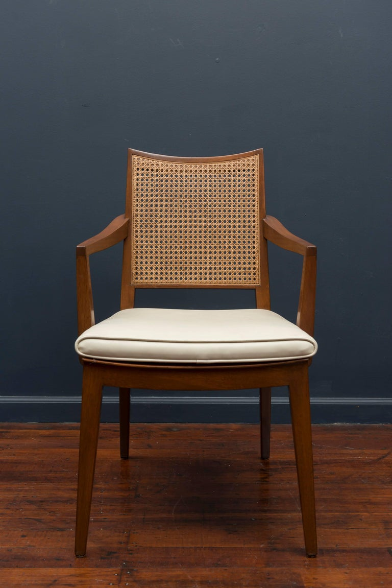 Mid-Century Modern Edward Wormley Dining Chairs for Dunbar For Sale