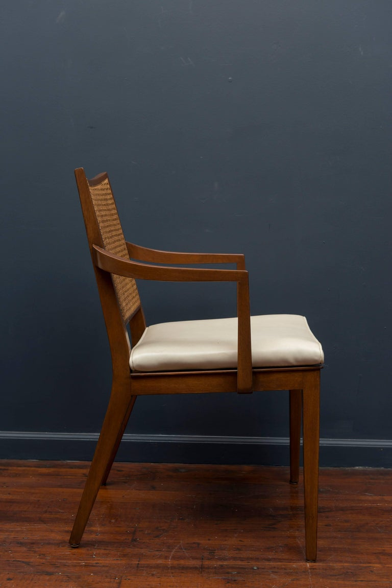 American Edward Wormley Dining Chairs for Dunbar For Sale