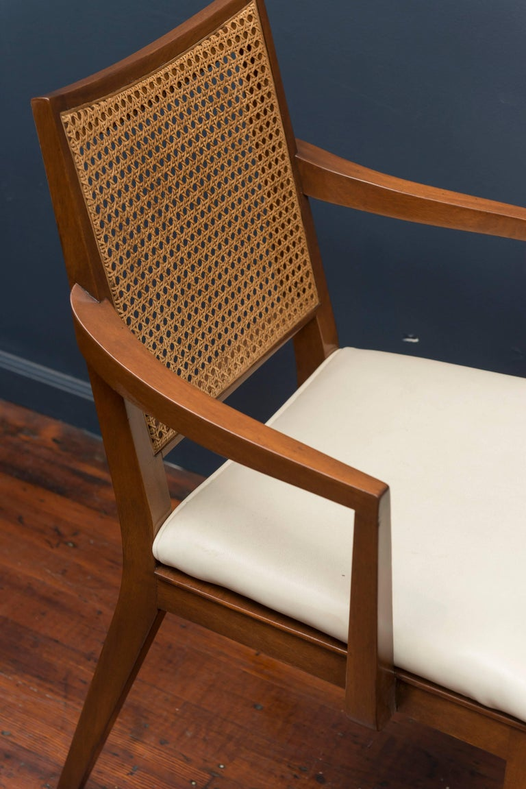 Edward Wormley Dining Chairs for Dunbar In Excellent Condition For Sale In San Francisco, CA