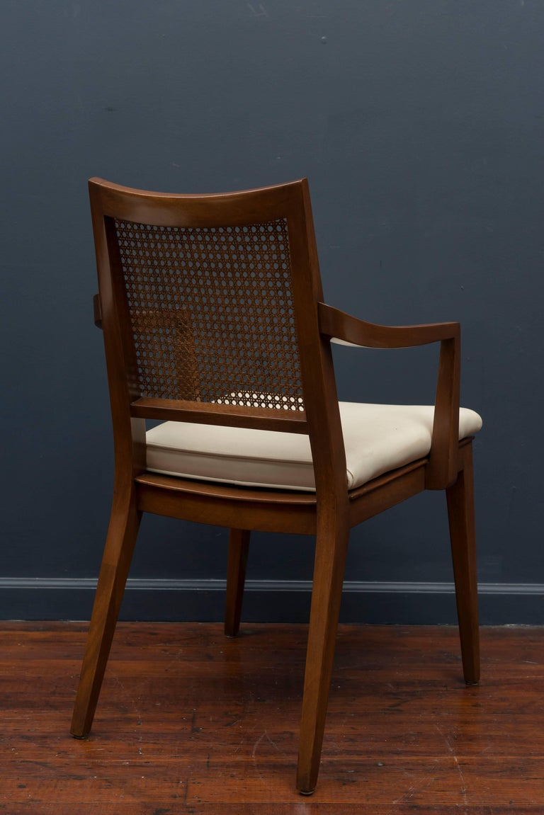 Mid-20th Century Edward Wormley Dining Chairs for Dunbar For Sale