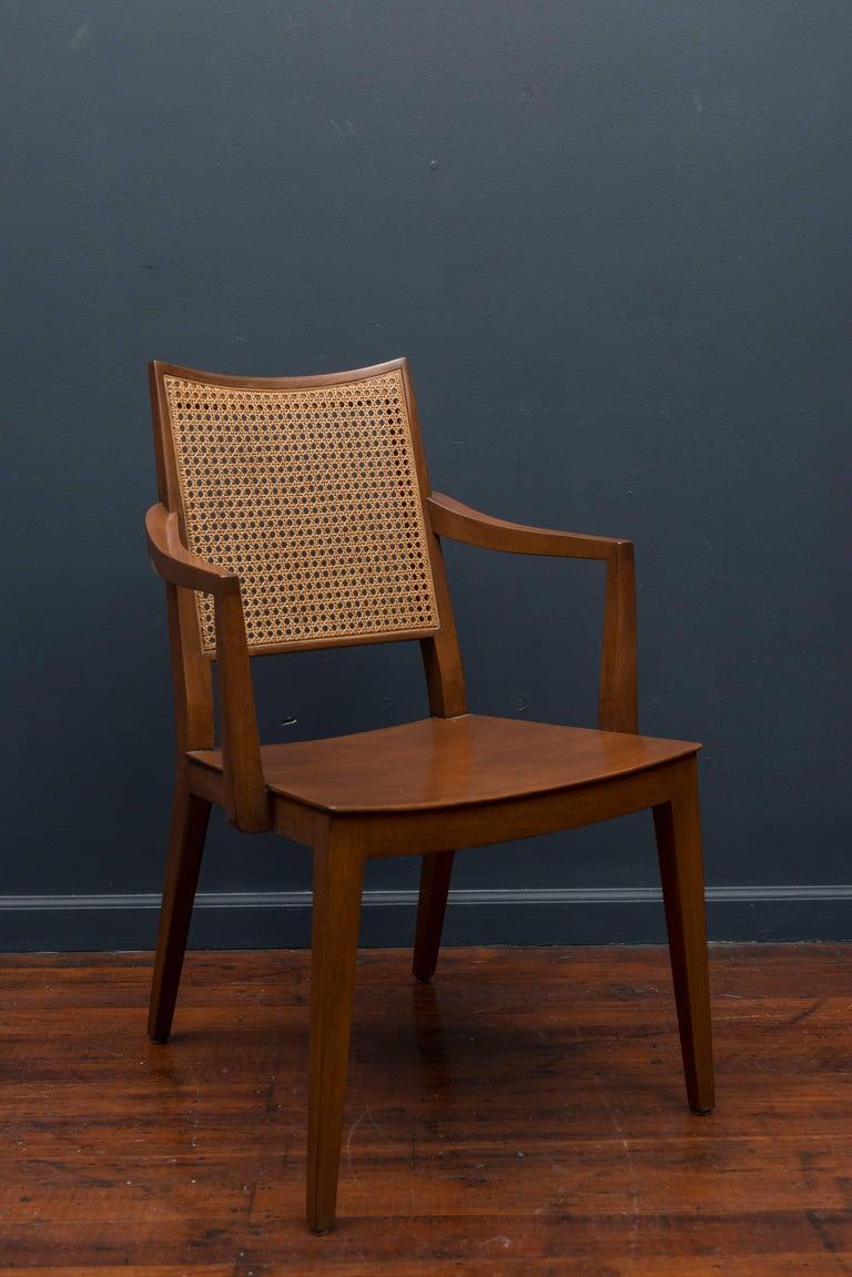 Edward Wormley Dining Chairs for Dunbar For Sale 2
