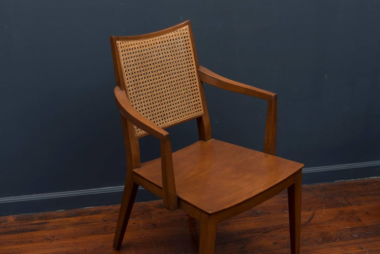 Edward Wormley Dining Chairs for Dunbar For Sale 3