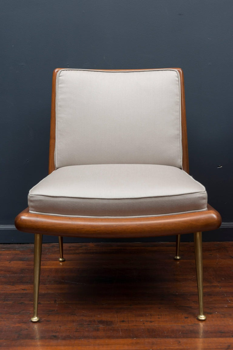 Mid-Century Modern T.H. Robsjohn-Gibbings Lounge Chairs For Sale