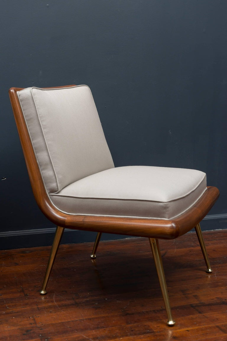 American T.H. Robsjohn-Gibbings Lounge Chairs For Sale