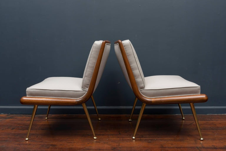 T.H. Robsjohn-Gibbings Lounge Chairs In Excellent Condition For Sale In San Francisco, CA