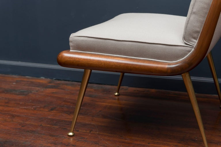 Mid-20th Century T.H. Robsjohn-Gibbings Lounge Chairs For Sale