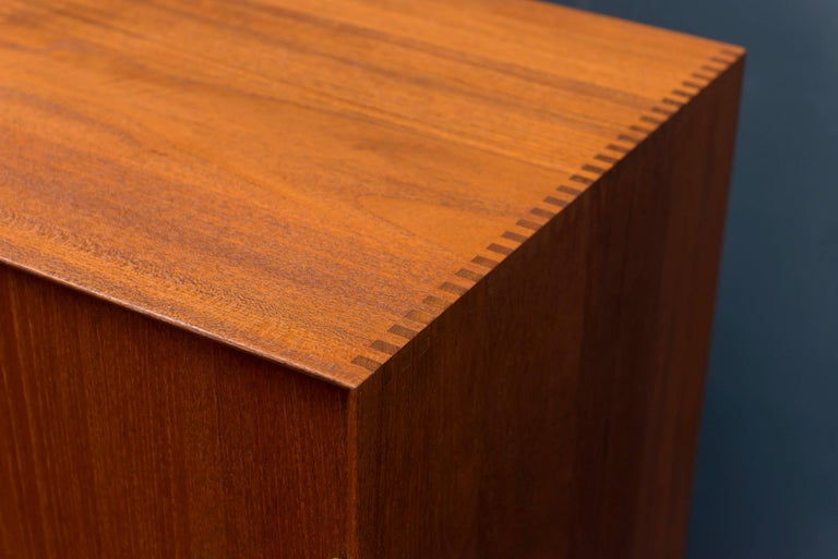 Peter Hvidt & Orla Mølgaard Teak Cabinet In Excellent Condition For Sale In San Francisco, CA