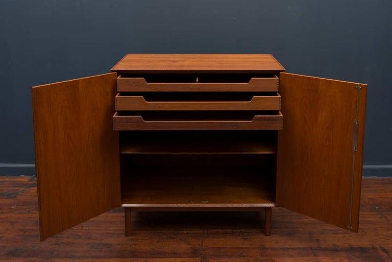 Peter Hvidt & Orla Mølgaard Teak Cabinet For Sale 1