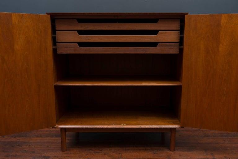 Peter Hvidt & Orla Mølgaard Teak Cabinet For Sale 2