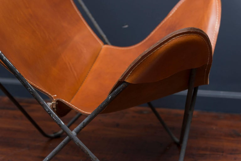 Butterfly Lounge Chair and Ottoman for Knoll 6