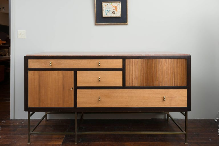 Mid-Century Modern Edward Wormley Credenza for Dunbar For Sale