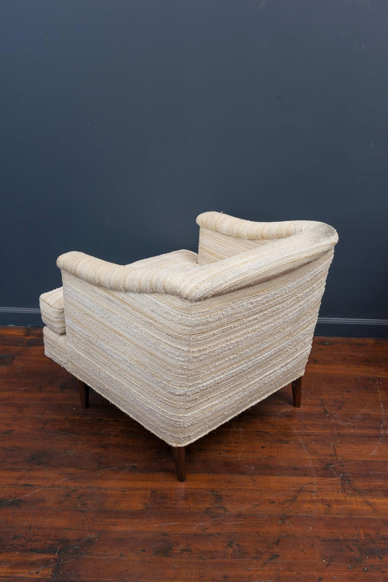 Edward Wormley Lounge Chairs for Dunbar For Sale 1