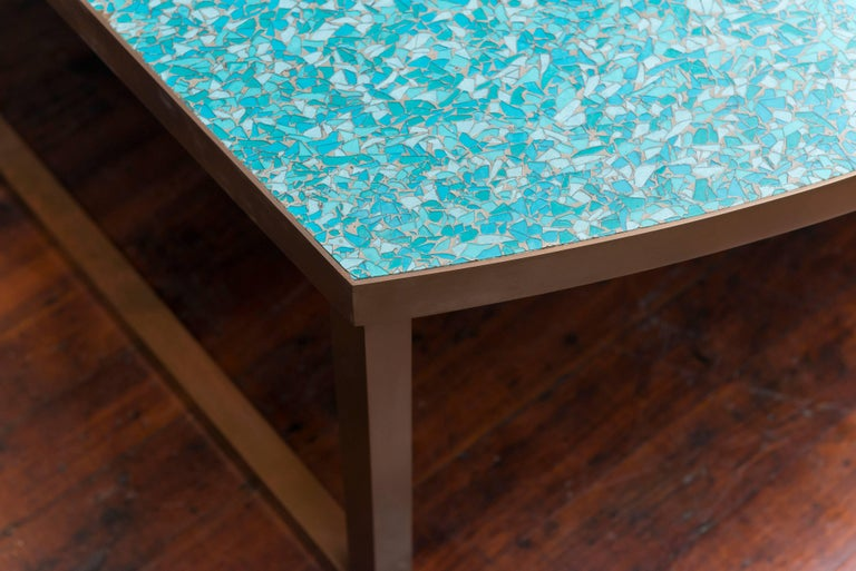American Mosaic Glass Coffee Tables For Sale