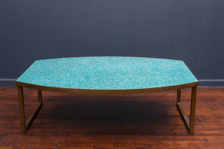 Mosaic Glass Coffee Tables For Sale 3