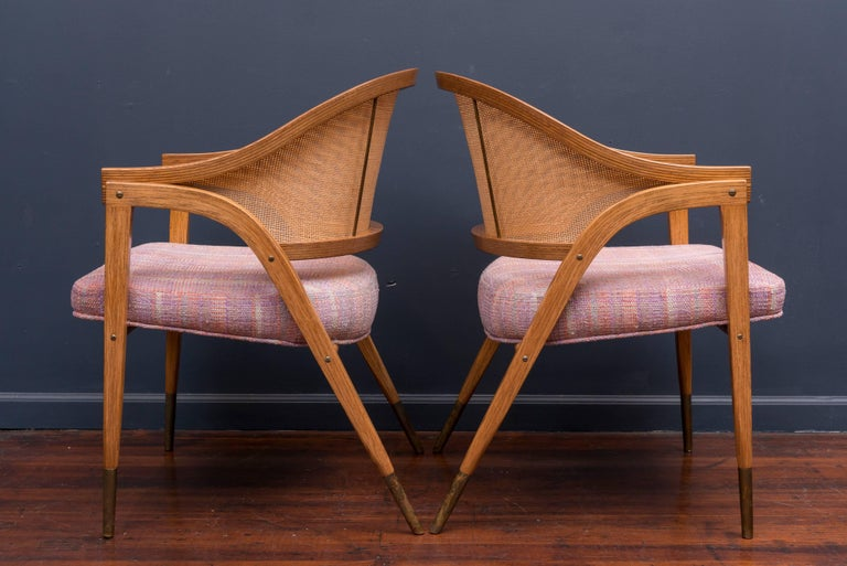Edward Wormley Captain's Chairs for Dunbar 3