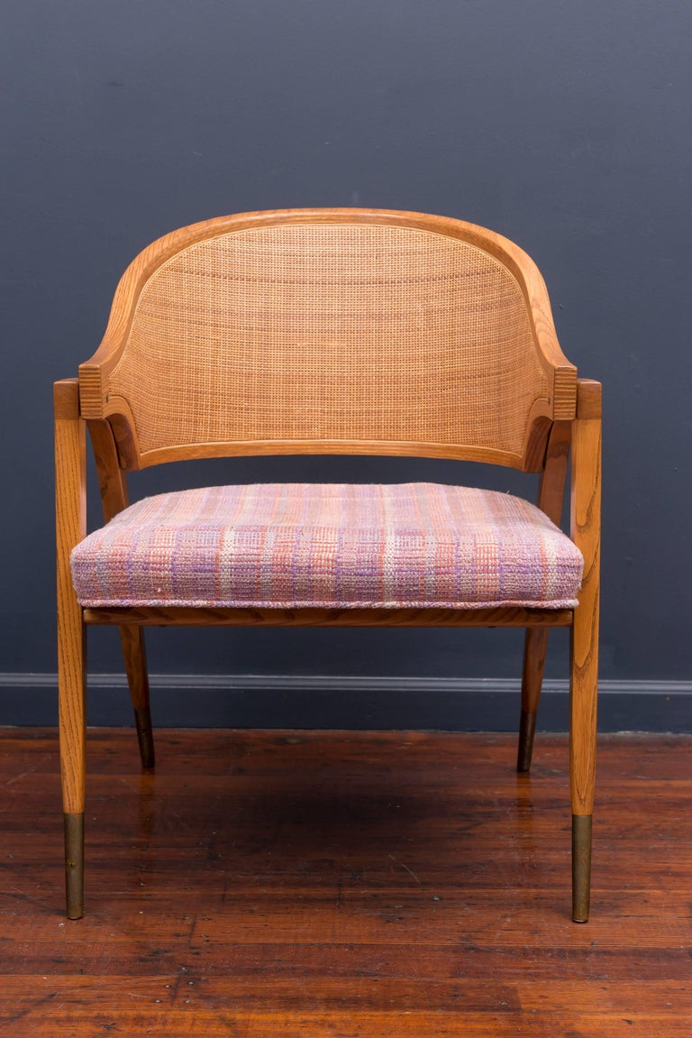 Edward Wormley Captain's Chairs for Dunbar For Sale 1