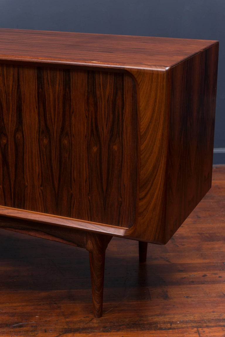 Danish Rosewood Credenza For Sale 1