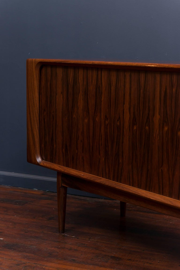 Danish Rosewood Credenza For Sale 2