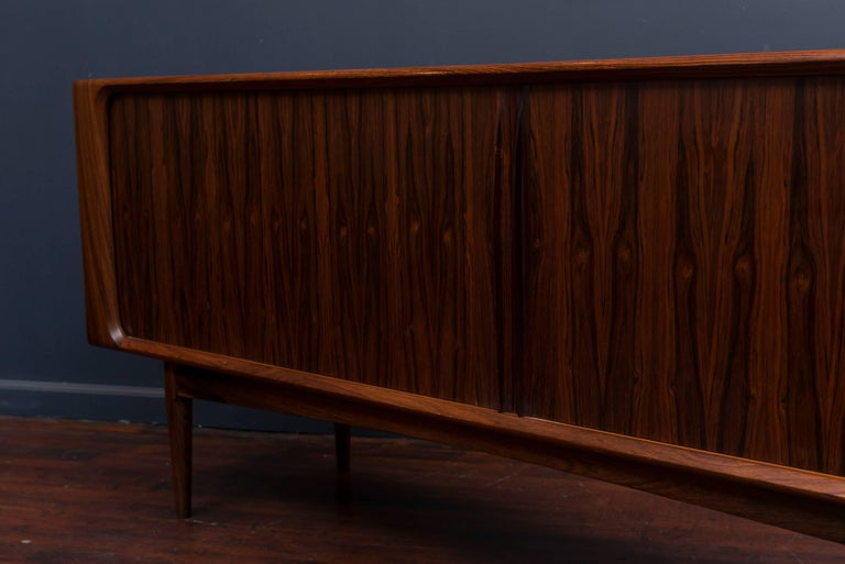 Danish Rosewood Credenza For Sale 3