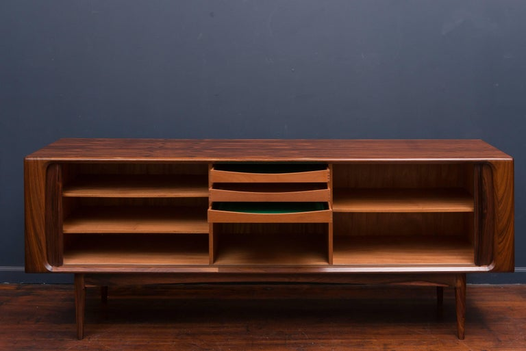 Danish Rosewood Credenza For Sale 4