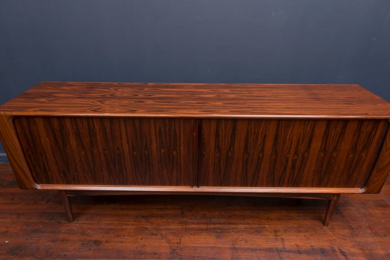 Danish Rosewood Credenza For Sale 5