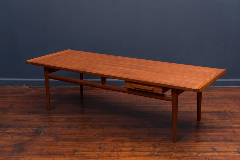 Danish Teak Coffee Table 5