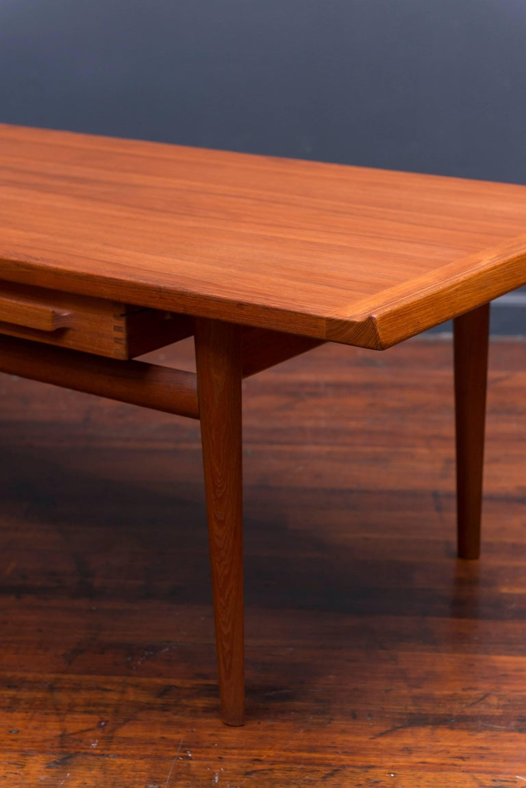 Danish Teak Coffee Table 6