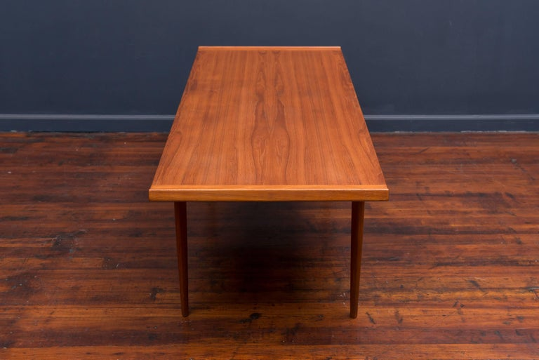 Danish Teak Coffee Table 7
