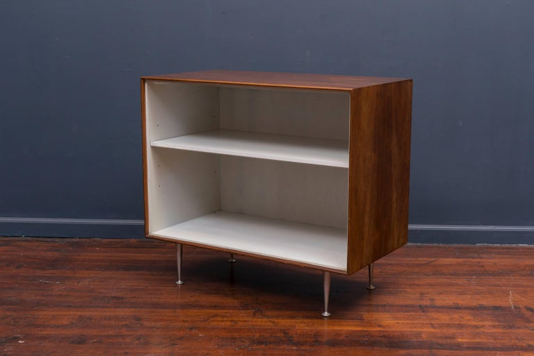 Mid-Century Modern George Nelson Rosewood Thin Edge Book Shelf For Sale