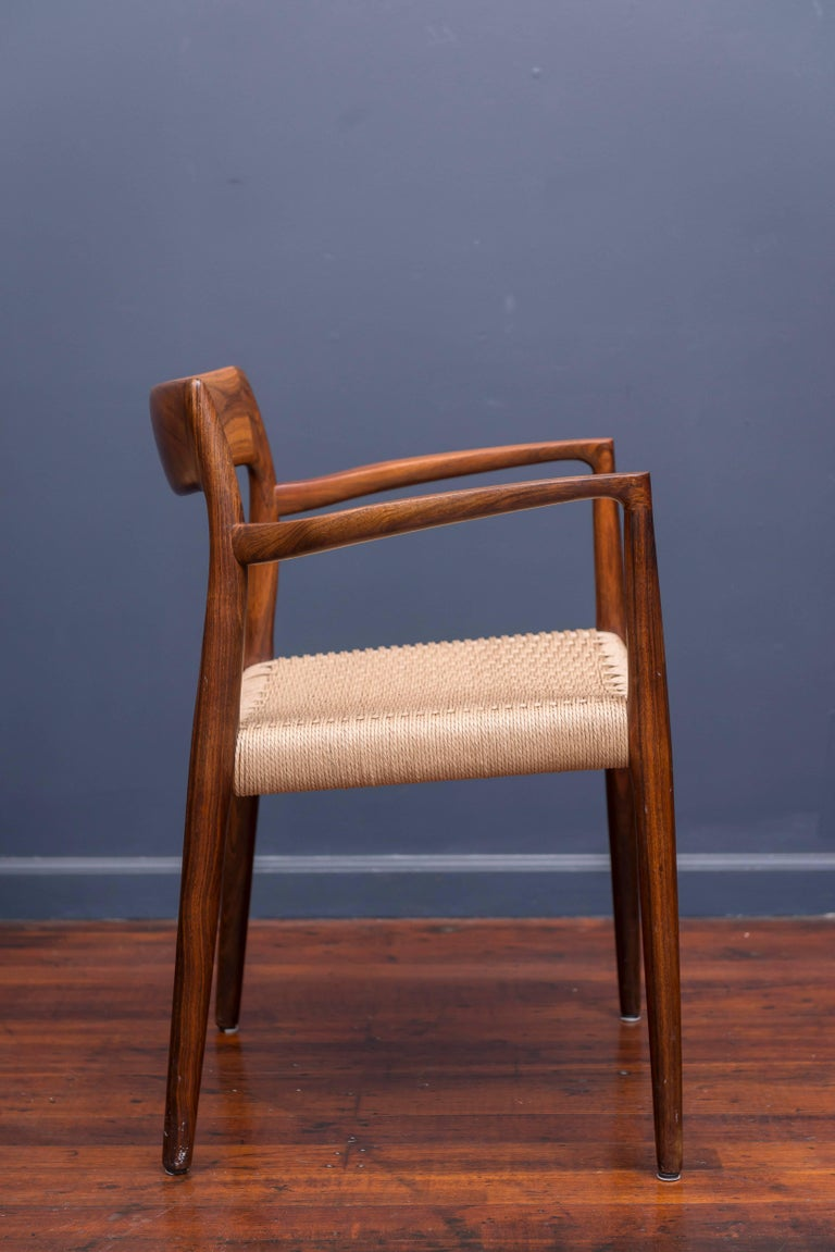 Set of Six Rosewood J.L. Møller Dining Chairs 5