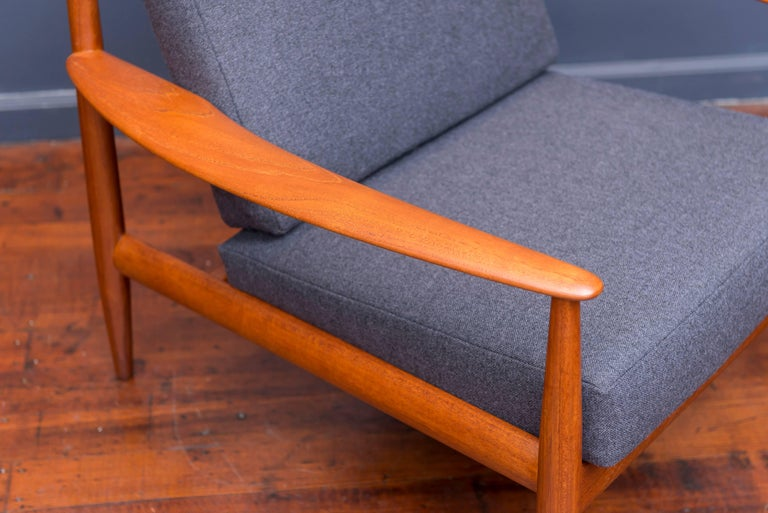 Mid-20th Century Danish Lounge Chairs by Greta Jalk For Sale