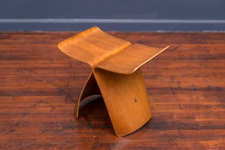 Mid-Century Modern Original Sori Yanagi Butterfly Stool For Sale