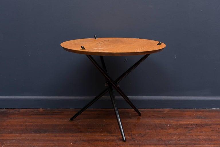 Mid-Century Modern Hans Bellman Tripod Table For Sale